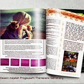 Desain Majalah Religiusitas by Room Art