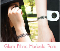 Bracelet  Glam Ethnic  de Marbella Paris