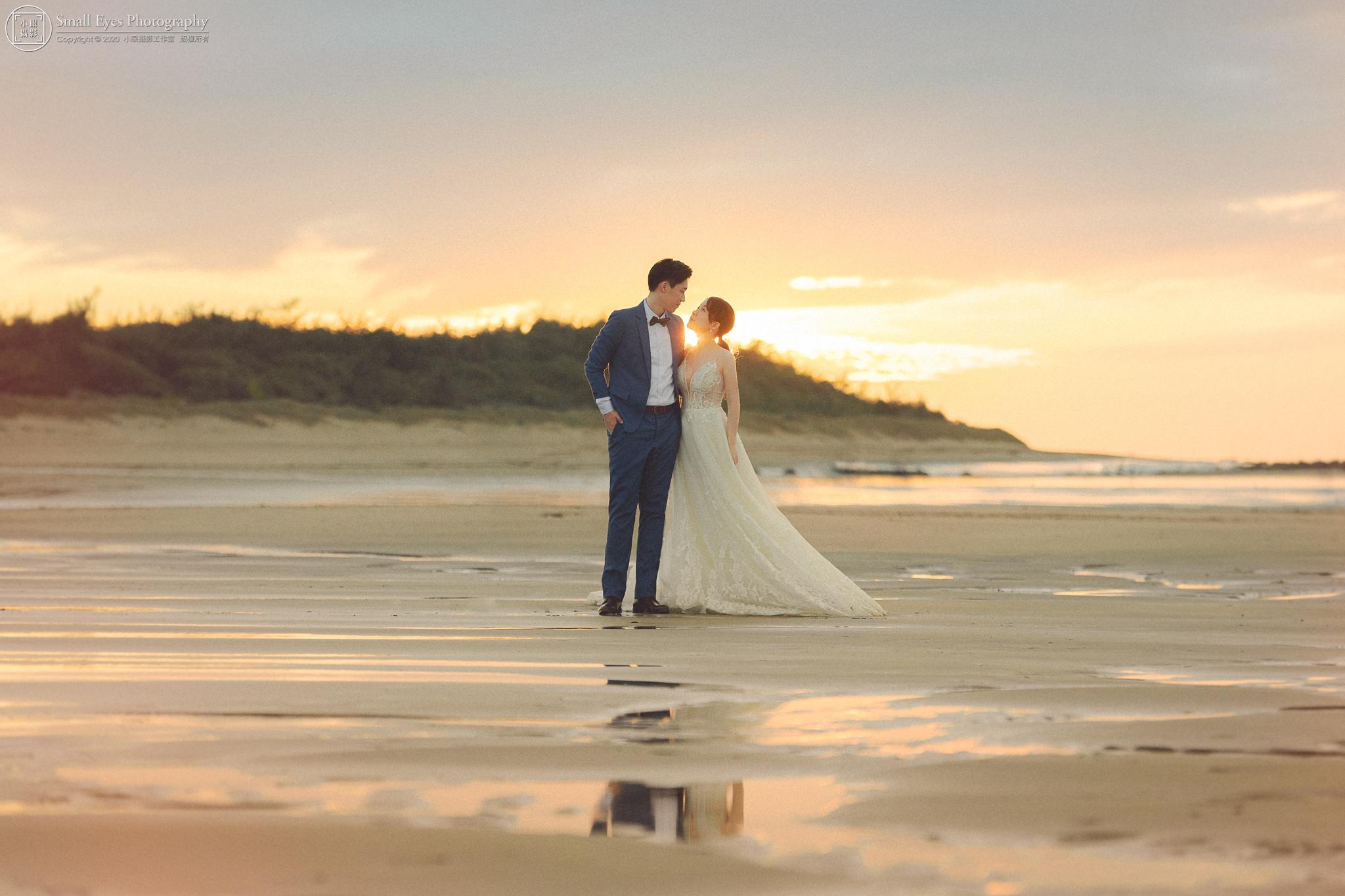 小眼攝影,自助婚紗,婚攝,婚紗攝影,新秘瓜瓜,吉兒婚紗,台灣,北部,北海岸,海邊