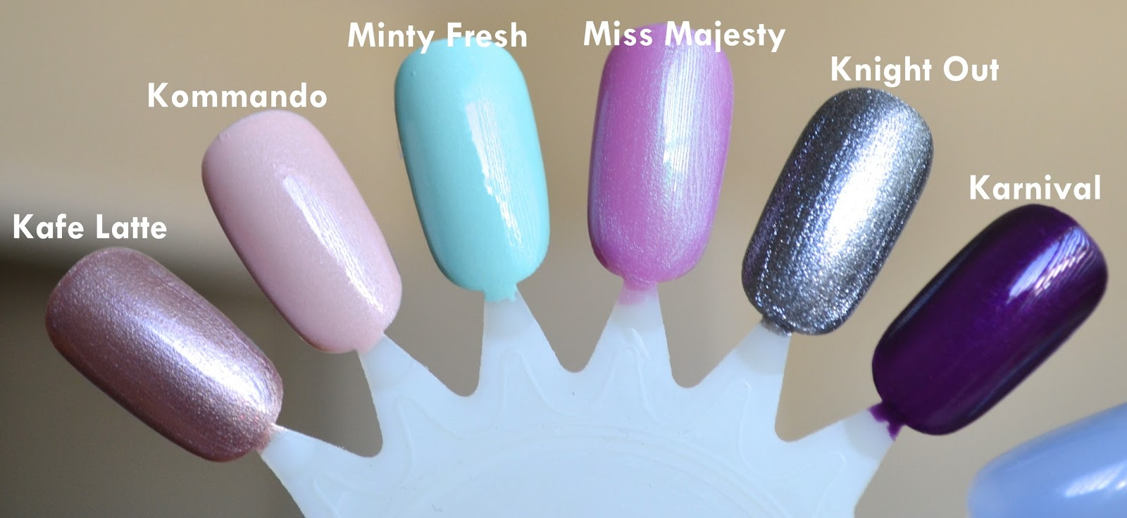 Aquaheart: SinfulColors Sinful Shine King Kylie Collection (6 Shades ...