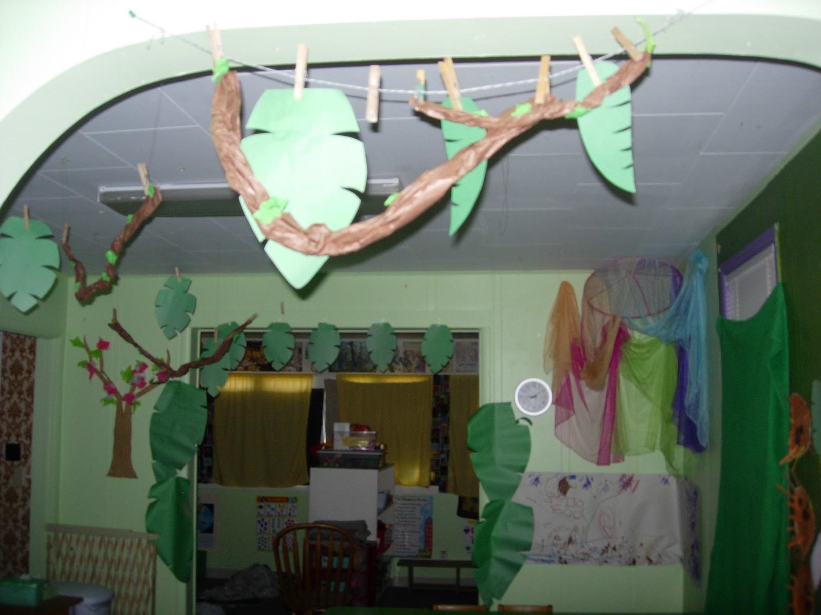 The Early Preschool Classroom Theme Of The Week Safari And Jungle