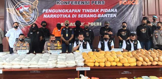 Ungkap 821 Kilogram Sabu, Polri Selamatkan Jutaan Rakyat Indonesia