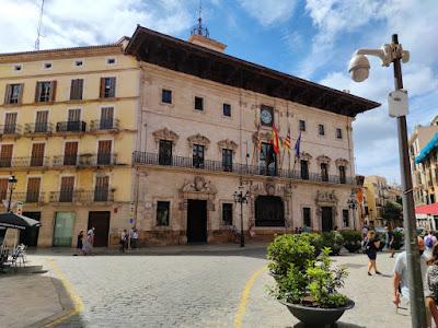 Ayutamiento de la ciudad de Palma con mucha historia