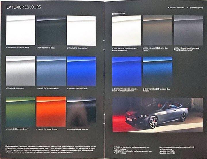 BMW 4-Series Coupe 2021 lộ ảnh thực tế trước giờ ra mắt