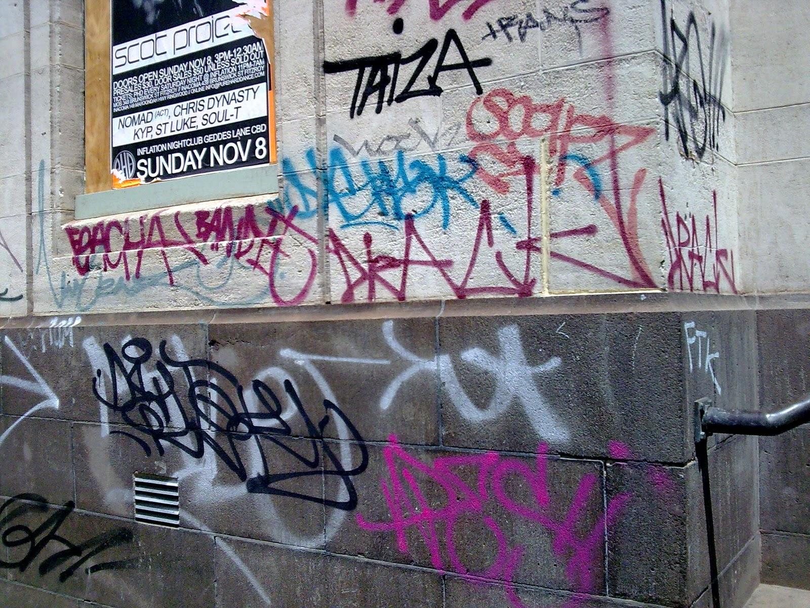 Vandal graffiti dan mural ternyata nggak sama ini bedanya