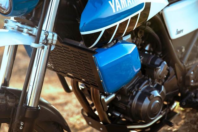 Yamaha XT600 By Bunker Custom Cycles Hell Kustom