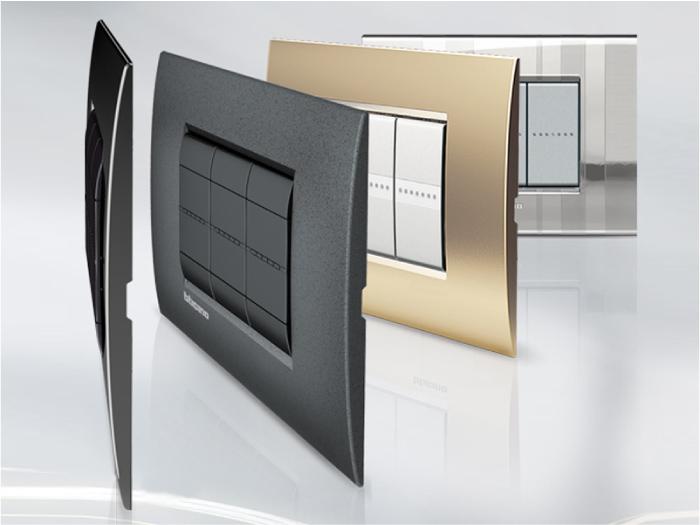 Placche bticino migliora il design della tua casa for Progetta le tue planimetrie della tua casa