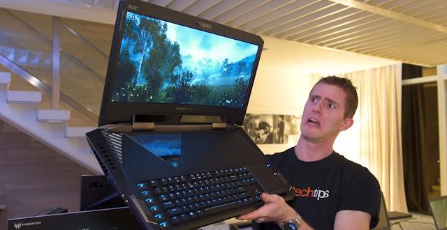 Laptop Acer Predator Triton 700, Bikin Ngiler Para Gamers..!! Siapkan Duit 125 Juta, Bawa Pulang Sekarang..