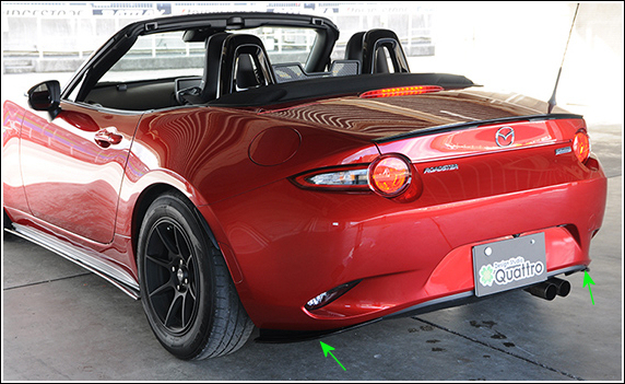 Mazda MX-5 ND DS Quattro Corner Skirt