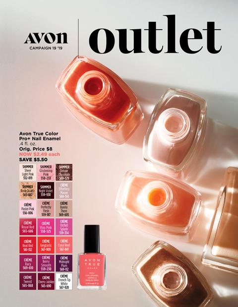 Avon Outlet Campaign 2019