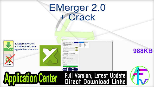 EMerger 2.0 + Crack