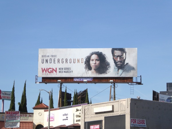 Underground season 1 billboard