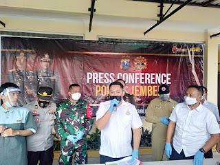 Polisi Tetapkan Empat  Tersangka  Pelanggaran Prokes