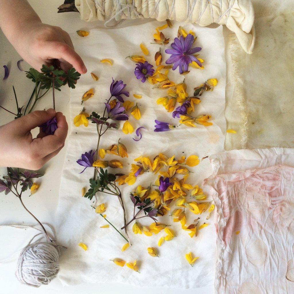 Cómo teñir telas con tintes naturales ¡Tintes 100% ecológicos!_12