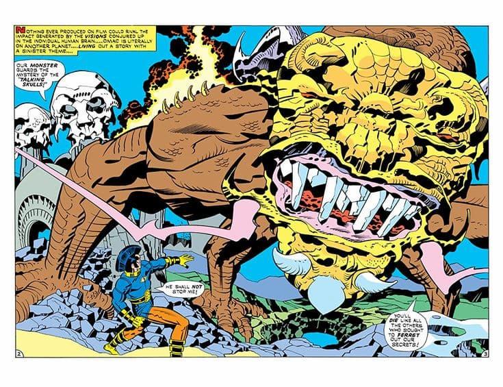 OMAC: Un Ejército de un Solo Hombre, de Jack Kirby