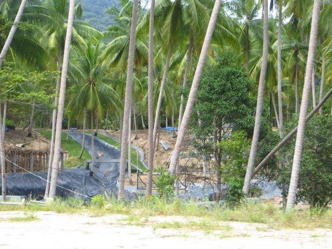 Стройка аквапарка