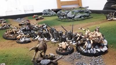 Ironhills Dwarfs vs. Dark Denizens of Mirkwood