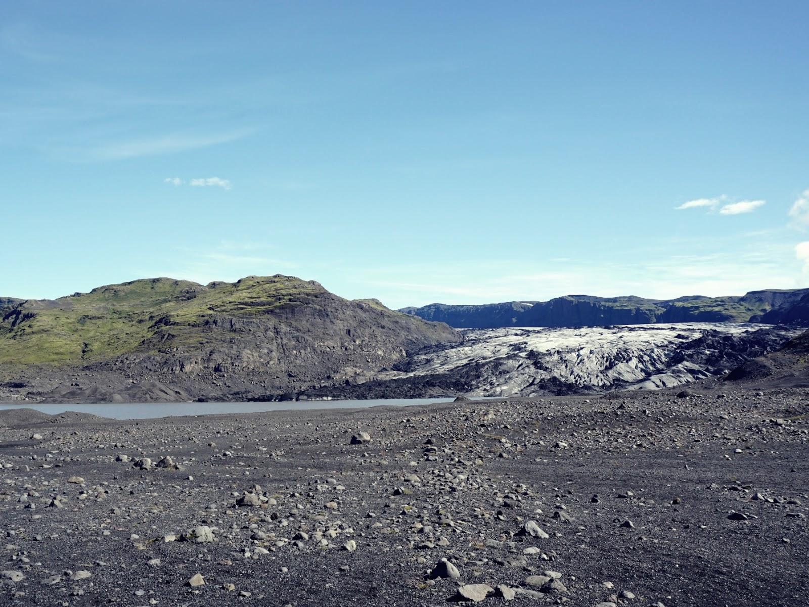 zatoka, Lodowiec Solheimajokull, lodowiec, Myrdalsjokull, Islandia, południowa Islandia, zwiedzanie Islandii, panidorcia, Pani Dorcia blog, blog o Islandii, co zwiedzić w Islandii