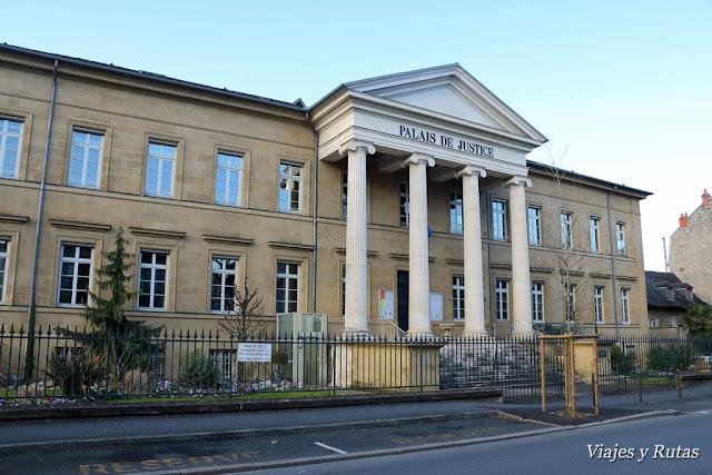 Palacio de justicia de Brive la Gaillarde