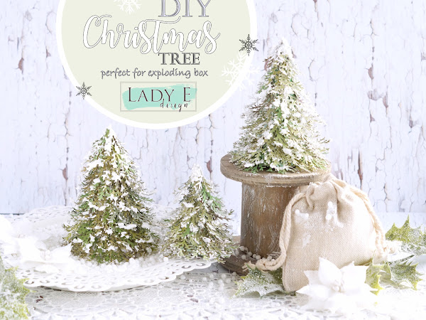 DIY Miniature Christmas Tree Video Tutorial