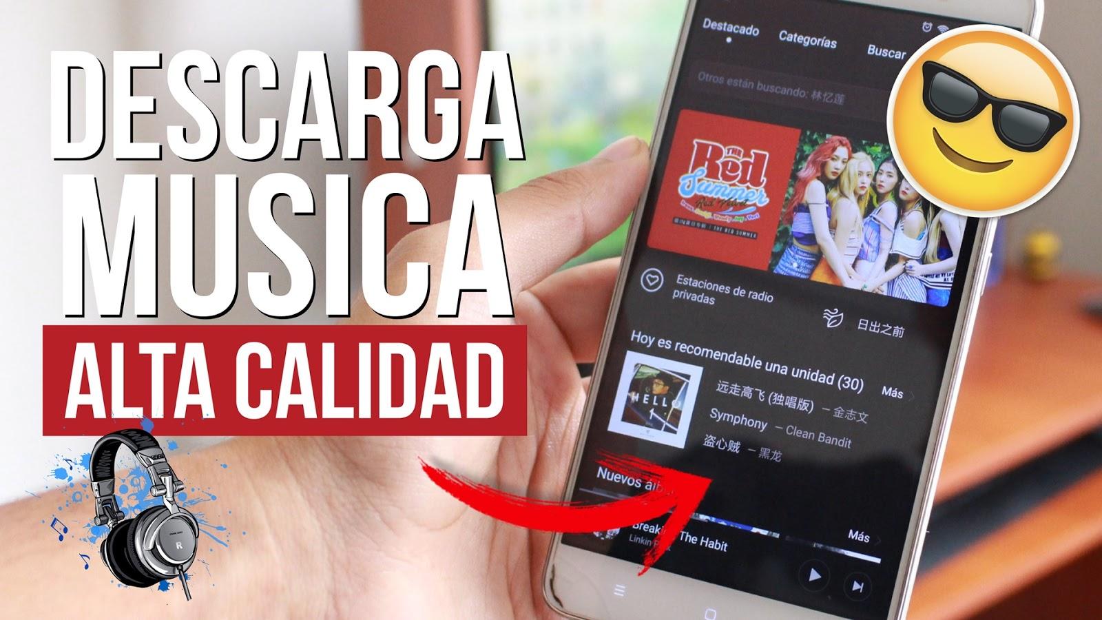 como descargar musica original gratis en android