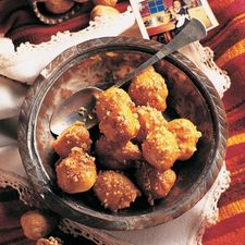 Greek Honey Dough Balls or Loukoumades Recipe