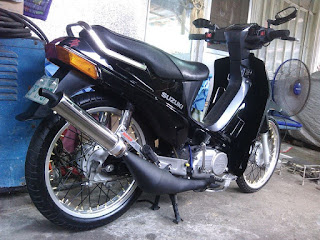 Modifikasi Suzuki RC 110 Crystal