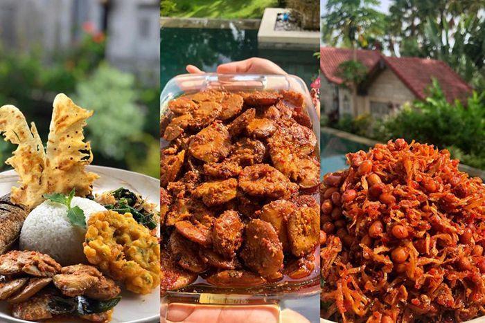 Menu makan di Teh Manis Bali. Instagram.com/@tehmanisbali
