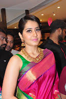 Raashi Khanna Photos at RS Brother Showroom HeyAndhra.com