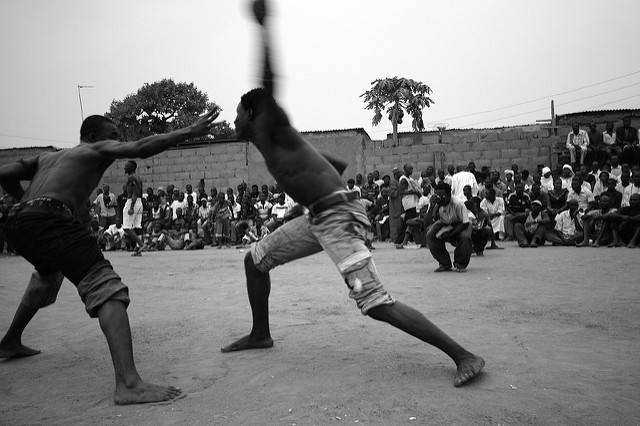 Yoruba fight night in Nigeria