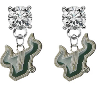 usf earrings