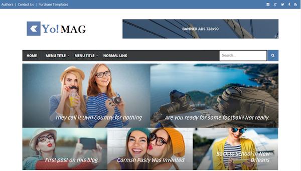 15+ Template Blogger Responsive, Seo Friendly dan Gratis 2020