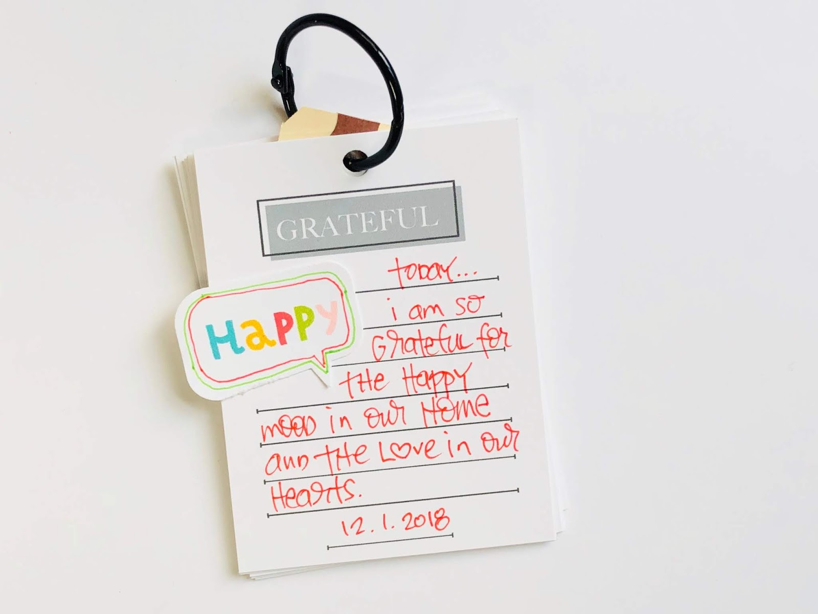 #Gratitude Journal #Gratitude #Grateful #Journal #Journal Cards #Pocket Scrapbooking #Journaling Cards #365 Things #Today