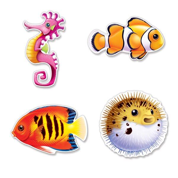 Under The Sea Fish Cutouts Wall Decor