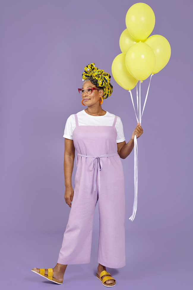 Safiya dungarees from Make It Simple by Tilly Walnes
