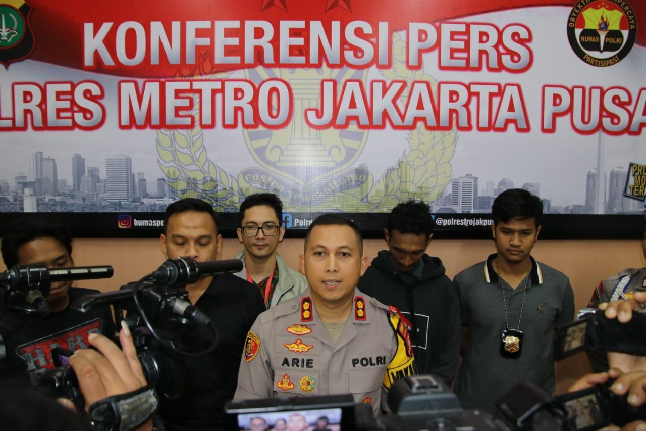 Polres Jakarta Pusat Berhasil Amankan Pengendara Motor Yang Viral Dimesos