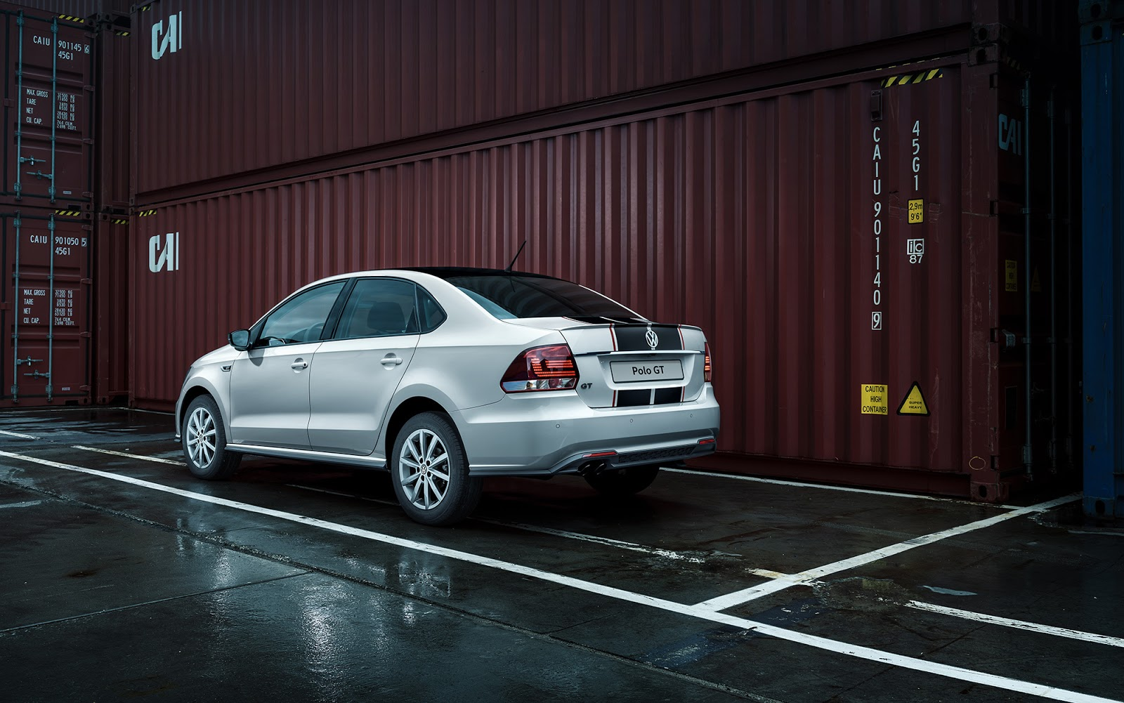 To Russia With Love New Vw Polo Gt Sedan Carscoops