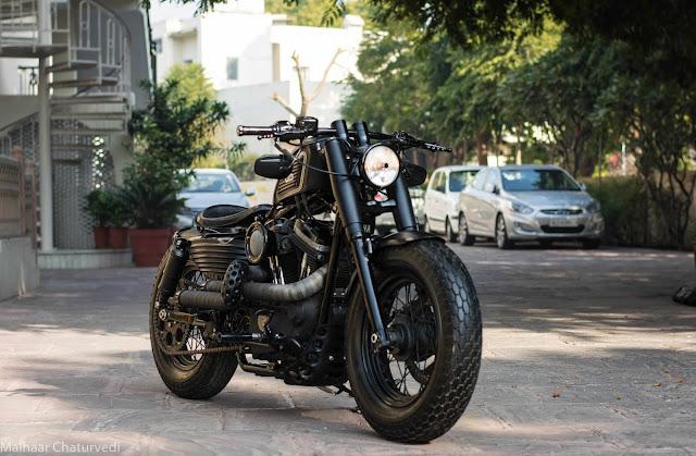 Harley Davidson 48 By Rajputana Custom Motorcycles Hell Kustom