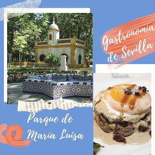 Parque María Luisa y gastronomía de Sevilla