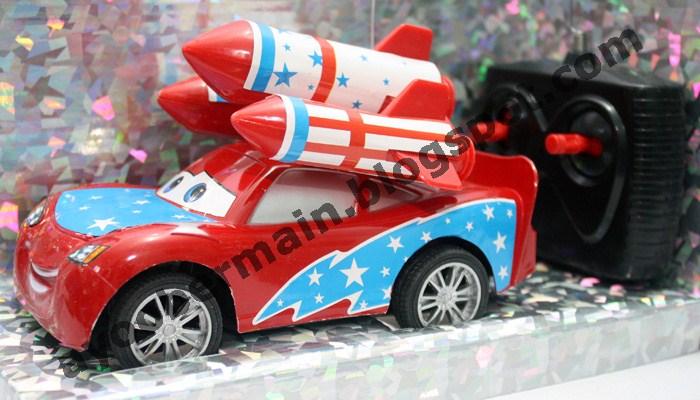 rc mobil the cars lightning mcqueen rocket launcher rp