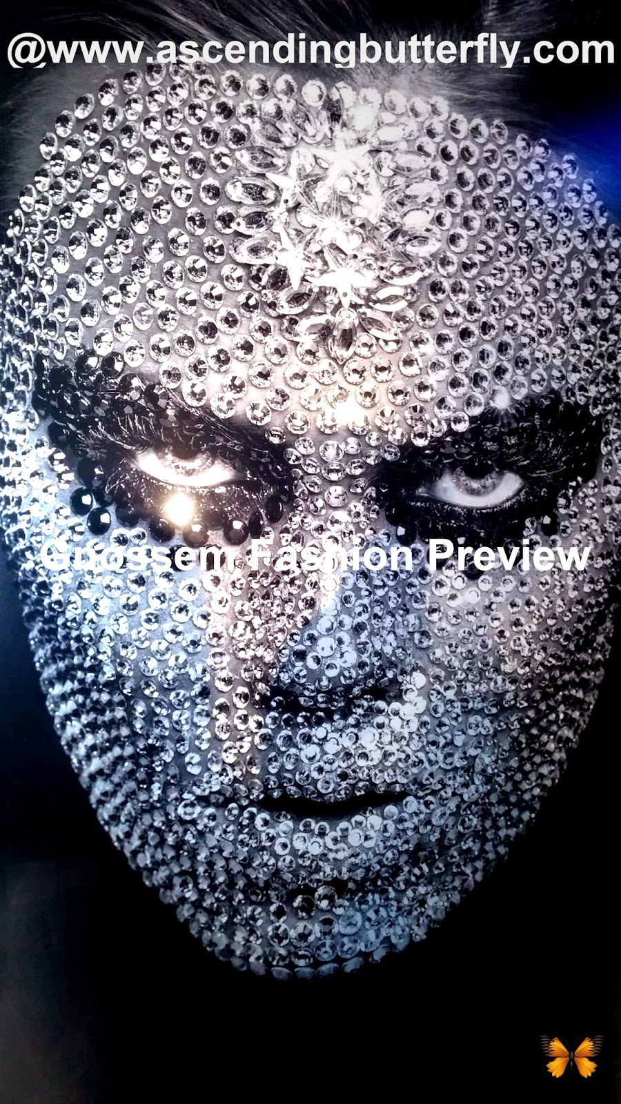 Gnossem Fashion Preview Maserati NYC Showroom February 2013 Poster Closeup