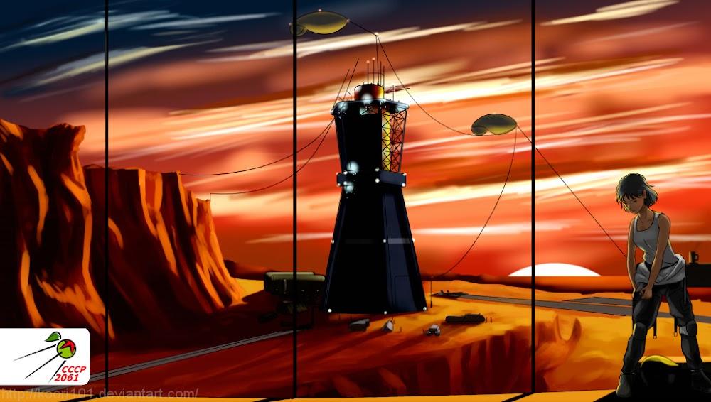 CCCP-2061 प्रतियोगिता के लिए koori101 द्वारा मंगल पर सोवियत कॉलोनी