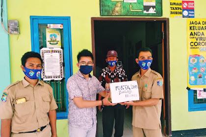 Tekan Penyebaran Covid-19, Jurnalis dan Warga Dukung Gerakan Satu  Warga Satu Masker di Desa Sekotong Tengah