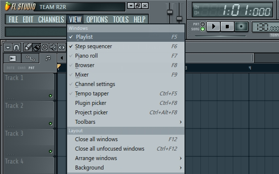 fl studio 11 playlist