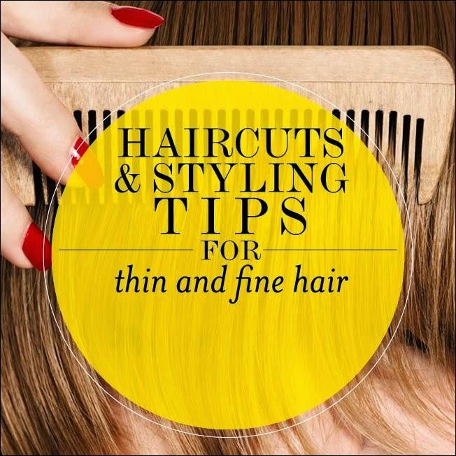 thin hair tips