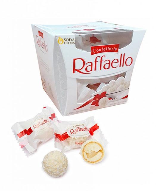 Kẹo dừa raffaello của Nga