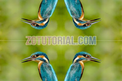 4 Cara Membalikan Gambar di Photoshop - Flip atau Mirror Image