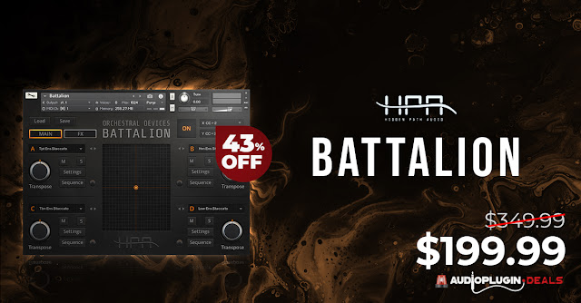 OUT NOW: ORCHESTRAL DEVICES BATTALION by Hidden Path Audio 43% OFF!