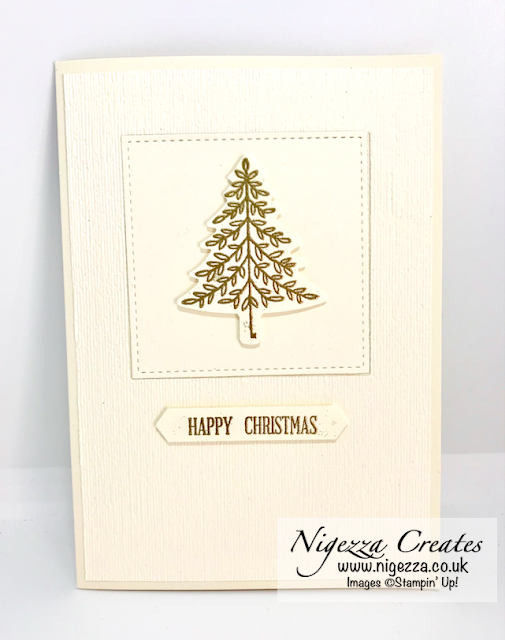 Nigezza Creates with Stampin' Up! Perfectly Plaid