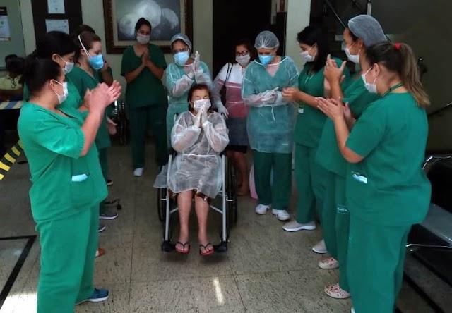 Número de curados do COVID-19 no Brasil chega a 945 e mostra que há esperança para todos